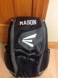 Backpack with Name Embroidered